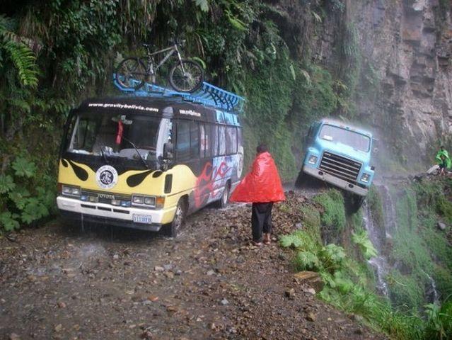 Yungas Death Road, Bolivia