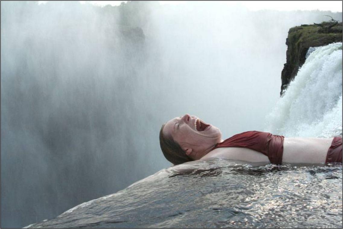 Devil's Pool, Victoria Falls.
