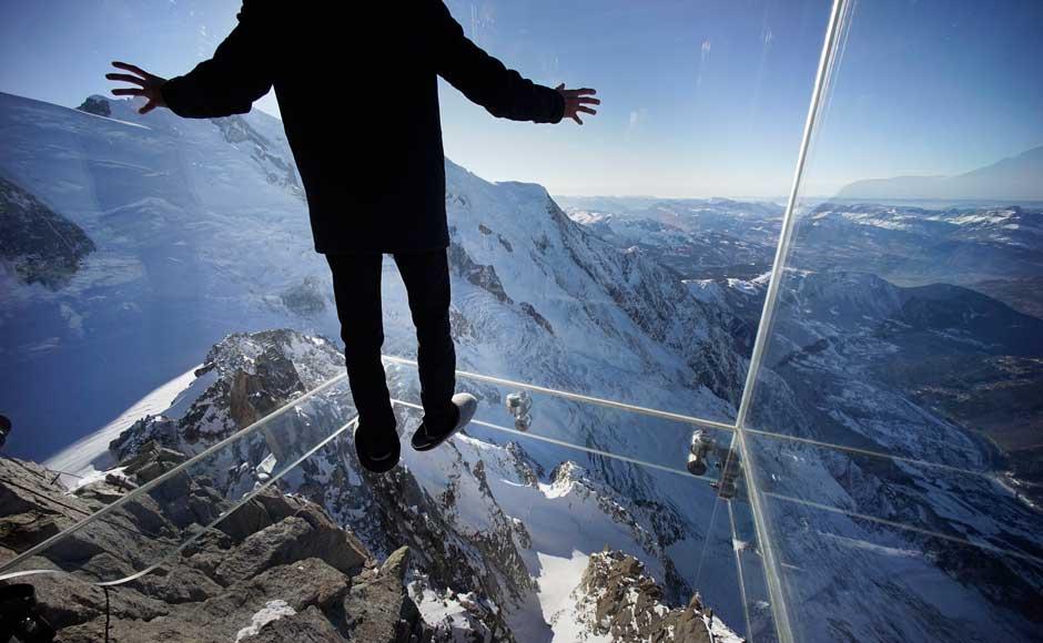 The Aiguille du Midi Skywalk